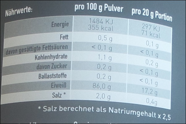Proteindrink