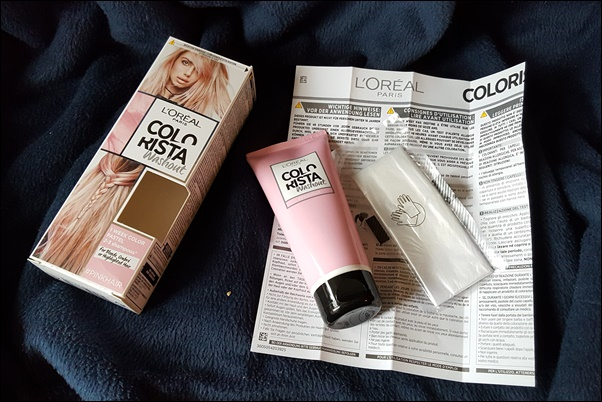L'Oréal Colorista Spray & Washout - pinke Haare