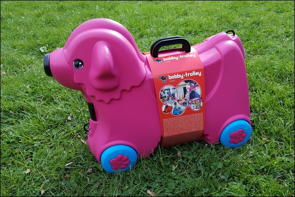 BIG-Bobby-Trolley Hund in Pink