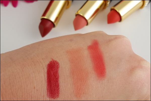L'Oréal Color Riche matte Addiction Lippenstifte
