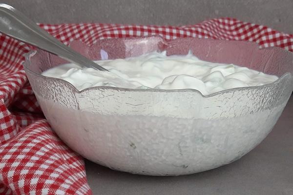 cremiges Tzatziki selber machen mit griechischer Joghurt
