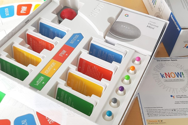 Ravensburger kNOW! mit Google Home Mini