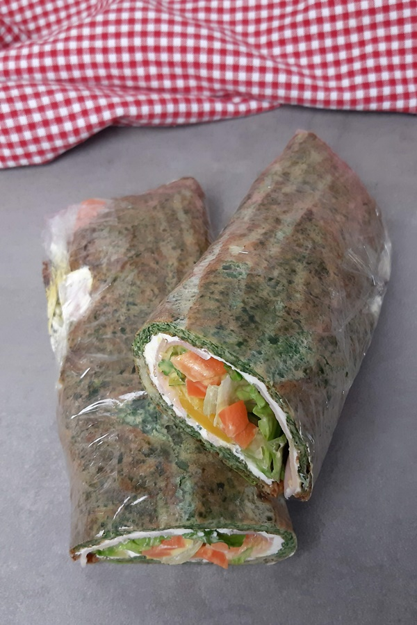 Lowcarb Chicken Wrap - eine leckere Lowcarb Rolle