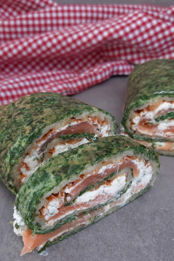 Lowcarb Lachsrolle und Weight Watchers Lachsrolle