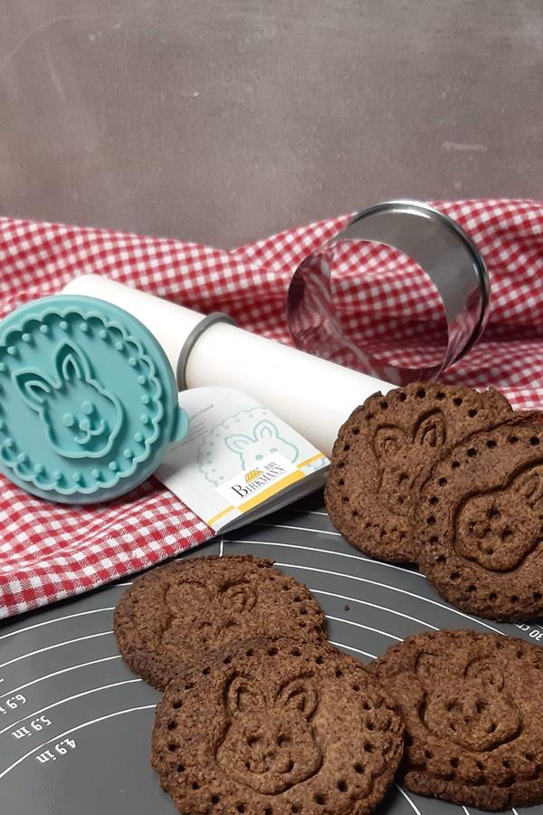 Keto Osterkekse - schokoladige Lowcarb Kekse