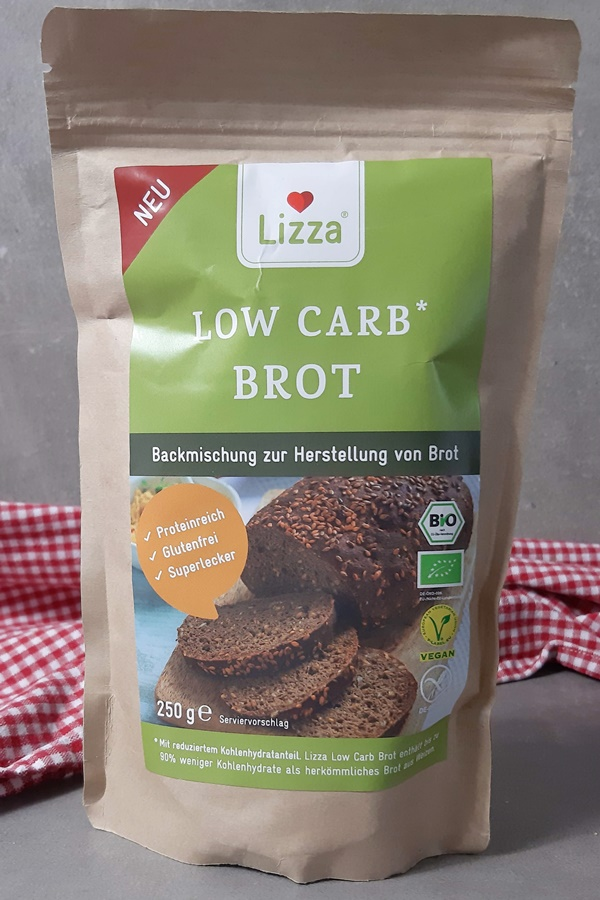 Lizza Low Carb Brot